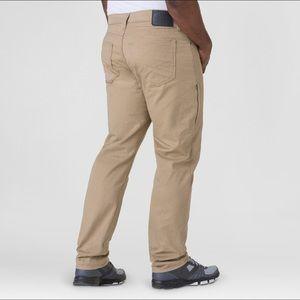 Denizen Levi's 231 Athletic Fit khaki pants NWT